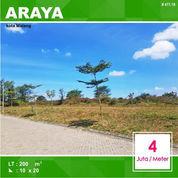 Tanah Luas 200 Di Asteria Hill Araya Kota Malang _ 411.19