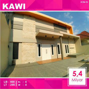 Rumah Baru 2 Lantai Luas 298 Daerah Kawi Kota Malang _ 354.18 (22642959) di Kota Malang