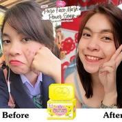 Pemutih Wajah Jellys Pure Face Mask Power Soap (22646563) di