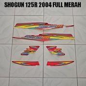Striping Shogun 125R 2004 Full Merah