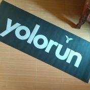Matras Yoga Yolorun Yolo Run Yoga Mat Anti Slip 171cm X 61cm X 6mm (22673635) di Kota Bekasi