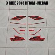 Striping X Ride 2018 Hitam - Merah (22677019) di Kota Jambi