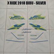 Striping X Ride 2018 Biru - Silver (22677083) di Kota Jambi