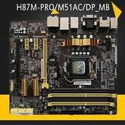MOTHERBOARD ASUS H87M-PRO/M51AC/DP_MB