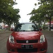 Suzuki Swift Automatic Tahun 2006 Merag Maroon CBU Japan