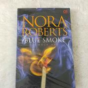 Buku Novel Terjemahan BLUE SMOKE Oleh NORA ROBERTS BARU OBRAL SEGEL