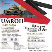 Umroh Plus Tour Aqsa (22700995) di Kota Surabaya