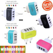 Charger 3 Port Usb Universal New