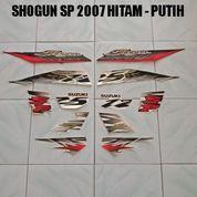Striping Shogun SP 2007 Hitam - Putih