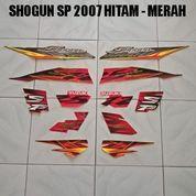 Striping Shogun SP 2007 Hitam - Merah (22706811) di Kota Jambi