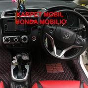 Karpet Mobil Haima Honda Mobilio 2014-2019 Full Bagasi (Menutupi Seluruh Bagian Dasar Mobil)