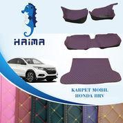 Karpet Mobil Haima Honda HRV 2015-2019 Full Bagasi (Menutupi Seluruh Bagian Dasar Mobil)
