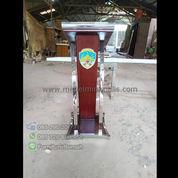 Ready Stock Podium Minimalis Jati Atau Mimbar Stainless Steel (22735231) di Kota Padang