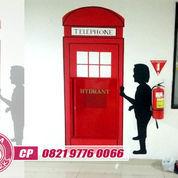 Jasa Lukis Dinding Surabaya GRATIS Desain Lukisan Dinding Mural (22737015) di Kota Surabaya
