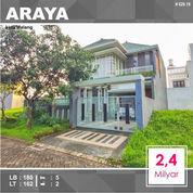 Rumah 2 Lantai Luas 162 Di Golf Araya Kota Malang _ 629.19 (22742799) di Kota Malang