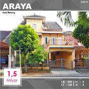 Rumah 2 Lantai Luas 128 Di PBI Araya Kota Malang _ 630.19 (22743023) di Kota Malang