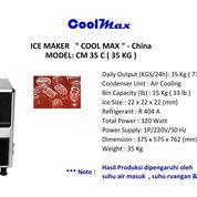 ICE MAKER COOLMAX CM 35C (22745731) di Kota Jakarta Timur