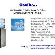 ICE MAKER COOLMAX CM 120PT