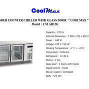 S/S UNDER COUNTER CHILLER WITH GLASS DOOR COOLMAX CM AR15G (22745867) di Kota Jakarta Timur
