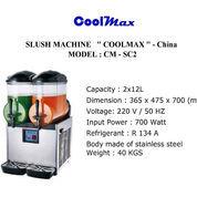 SLUSH MACHINE COOLMAX CM SC2 (22746023) di Kota Jakarta Timur