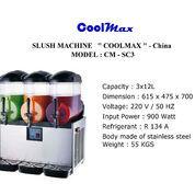 SLUSH MACHINE COOLMAX CM SC3 (22746067) di Kota Jakarta Timur
