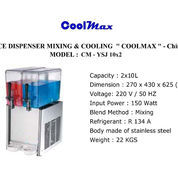JUICE DISPENSER MIXING & COOLING COOLMAX CM YSJ 10 X 4 (22746171) di Kota Jakarta Timur