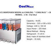 JUICE DISPENSER MIXING COOLING COOLMAX CMYSJ10x4 (22747487) di Kota Jakarta Timur