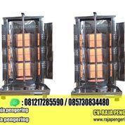 Mesin Kebab Triple Burner Tiang Pemanggang Otomatis Tipe Gas (22752251) di Kab. Sidoarjo