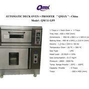 AUTOMATIC DECK OVEN + PROOFER QM 11 GP5 (22752811) di Kota Jakarta Timur