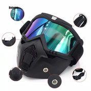 Masker Kaca Mata Motor Goggles / Kaca Mata Helm Goggle / Goggles Mask