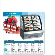 CAKE CASE FRONT SLIDING DOOR CVF90