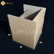 Kardus / Kotak Packing 20 X 20 X 15 Cm Isi 25pcs