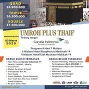 Terjamin WA +62812-9797-0090 - Umroh Plus Thaif 2020 Cilodong (22793479) di Kota Depok
