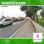 Tanah Luas 5.115 Poros Jalan Mondoroko Singosari Kota Malang _ 643.19 (22800047) di Kota Malang