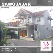 Rumah Murah 2 Lantai Luas 157 Di Sawojajar 1 Kota Malang _ 644.19 (22800079) di Kota Malang