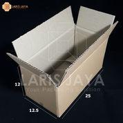 Kardus / Box / Karton / Kotak Packing - 25 X 12,5 X 12 Cm (Isi 25 Pcs)