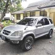 Honda CRV 2002 Silver Kesayangan