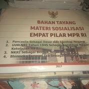 1 Pax Buku Undang-Undang Dasar Dan Materi Sosialisasi Empat Pilar MPR RI