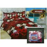 Bed Cover Flat Bonita Ukuran 220x220 Motif Wedding (22817419) di Kota Semarang
