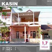 Rumah 2 Lantai Luas 134 Di Sawahan Kasin Kota Malang _ 657.19 (22832075) di Kota Malang