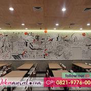 Makin Laris Manis | Dekorasi Interior Mural Cafe Terfavorit, PAKET IRIT (22832271) di Kota Jakarta Pusat