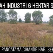 Tanah Industri 6 Hektar Kawasan Pancatama Cikande (22843051) di Kab. Serang