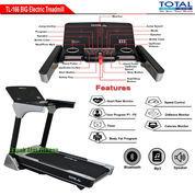 Treadmill Elektrik Motor 3 HP Total Fitness TL-166 Auto Incline Murah