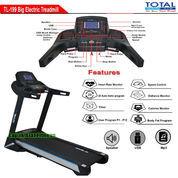 Treadmill Elektrik Motor 3 HP Total Fitness TL-199 Auto Incline Termurah