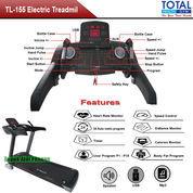 Alat Olahraga Murah Treadmill Elektrik Motor 3.5 HP Total Fitness TL-155