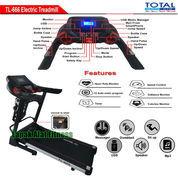 Alat Fitness Treadmill Elektrik 4 Fungsi Motor 2 HP TL-666 Auto Incline Total Fitness