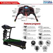 Alat Fitness Treadmill Elektrik 3 Fungsi Motor 2 HP TL-636 Auto Incline Total Fitness