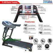 Alat Fitness Treadmill Elektrik 4 Fungsi Motor 2 HP TL-650 Auto Incline Total Fitness