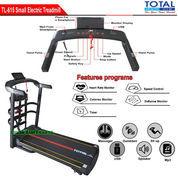 Alat Fitness Treadmill Elektrik 4 Fungsi Motor 1.5 HP TL-615 Manual Incline Total Fitness