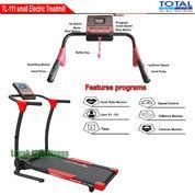 Alat Fitness Treadmill Elektrik 1 Fungsi Motor 1 HP TL-111 Manual Incline Total Fitness